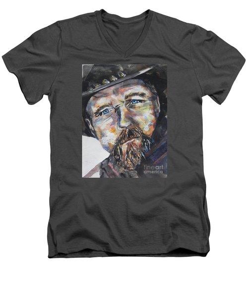 Trace Adkins..country Singer Men's V-Neck T-Shirt by Chrisann Ellis