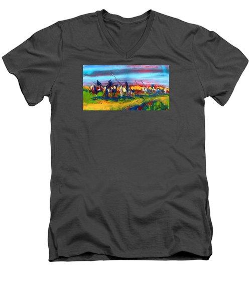 Trail Of Tears Men's V-Neck T-Shirt