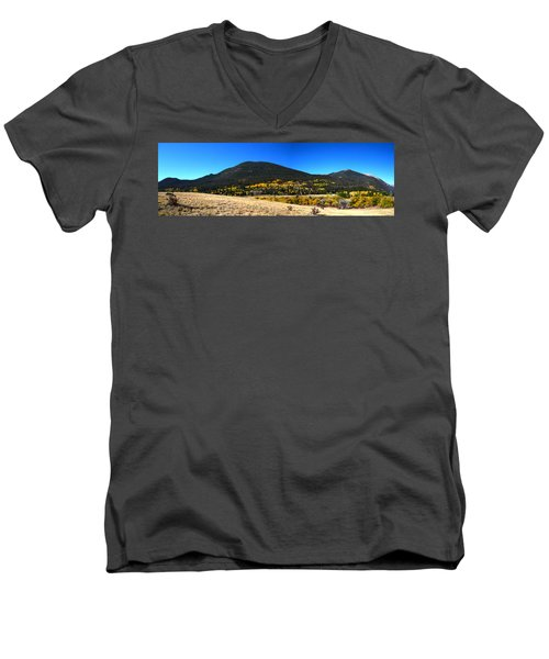 Trail Ridge Road - Panorama Men's V-Neck T-Shirt