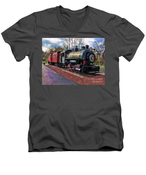 Train At Olmsted Falls - 1 Men's V-Neck T-Shirt