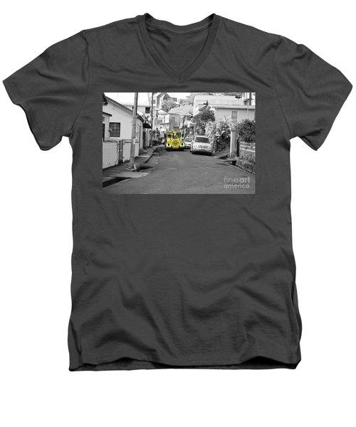 Train Ride Men's V-Neck T-Shirt