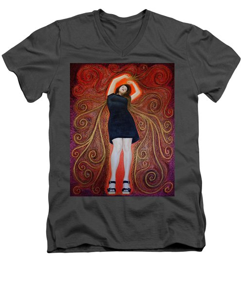 Trance Men's V-Neck T-Shirt
