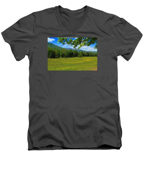 Men's V-Neck T-Shirt featuring the photograph Tranquility by Geraldine DeBoer