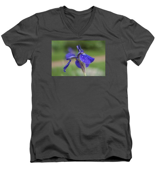 Men's V-Neck T-Shirt featuring the photograph Tranquility by Miguel Winterpacht