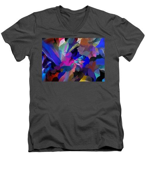Transcendental Altered States Men's V-Neck T-Shirt by David Lane