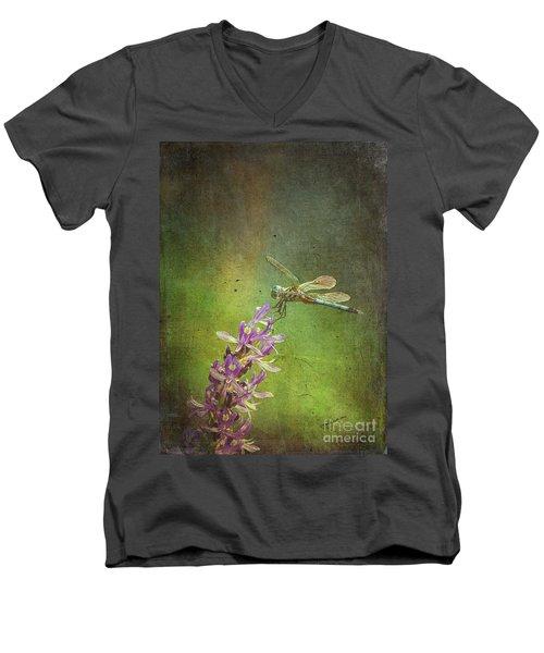Treading Lightly Men's V-Neck T-Shirt