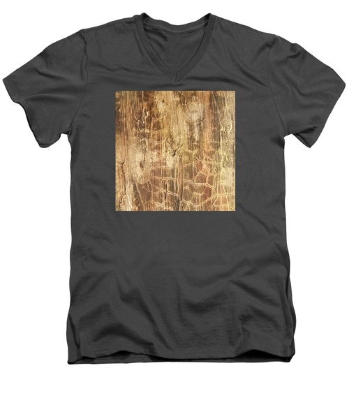 Tree Bark Men's V-Neck T-Shirt