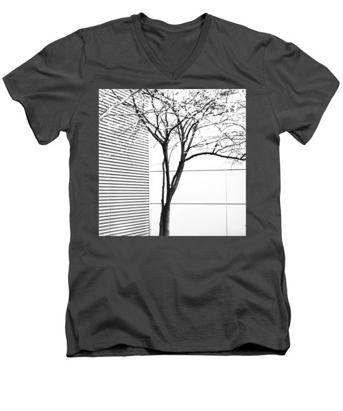 Tree Lines Men's V-Neck T-Shirt