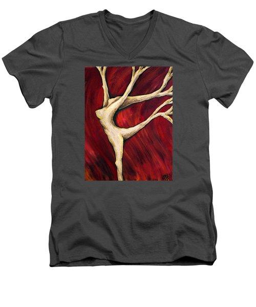 Tree Spirit Men's V-Neck T-Shirt