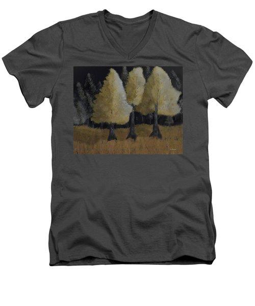 Tree Trio Men's V-Neck T-Shirt