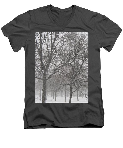 Trees Of Silence Men's V-Neck T-Shirt