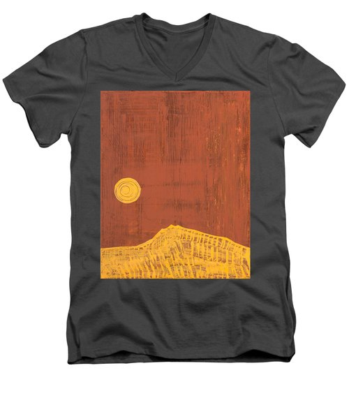 Tres Orejas Original Painting Men's V-Neck T-Shirt by Sol Luckman