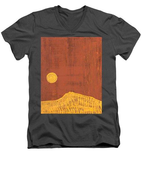 Tres Orejas Original Painting Men's V-Neck T-Shirt