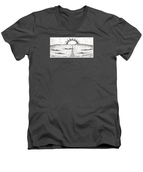 Trestles Men's V-Neck T-Shirt