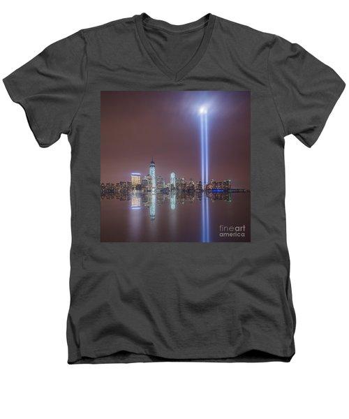 Tribute In Light Men's V-Neck T-Shirt