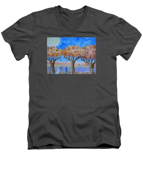 Trick Or Treat 1 Men's V-Neck T-Shirt