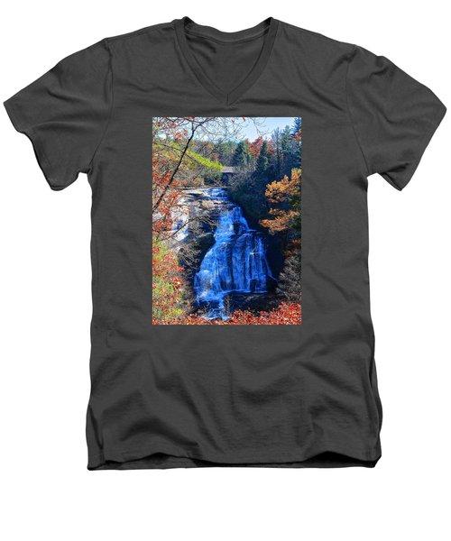 Triple Falls Men's V-Neck T-Shirt