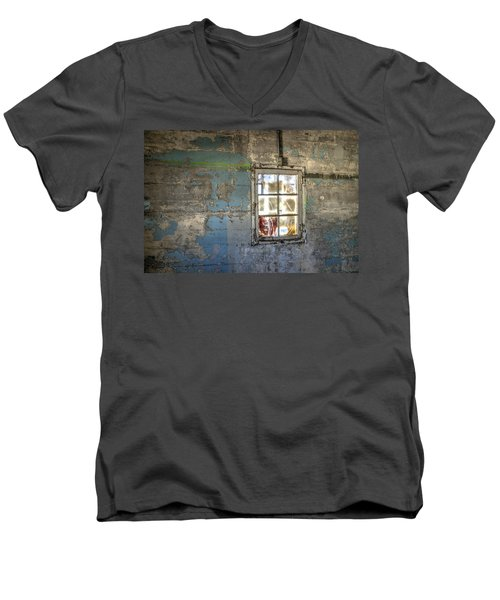 Trustee-3 Men's V-Neck T-Shirt