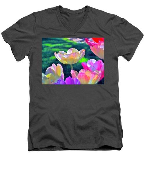 Tulip 21 Men's V-Neck T-Shirt