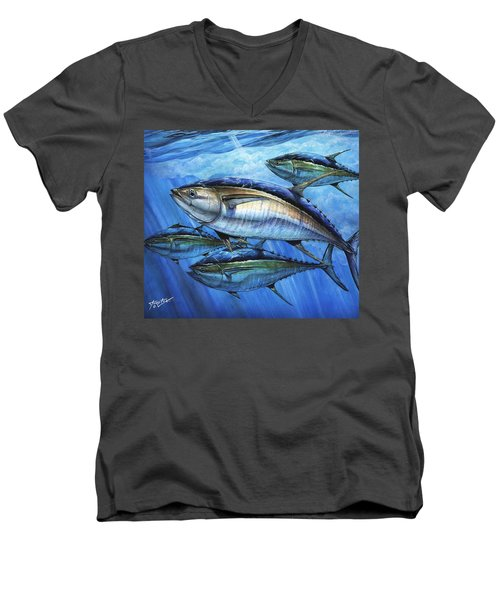 Tuna In Advanced Men's V-Neck T-Shirt
