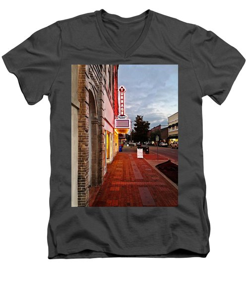 Turnage Theater Grand Opening Men's V-Neck T-Shirt