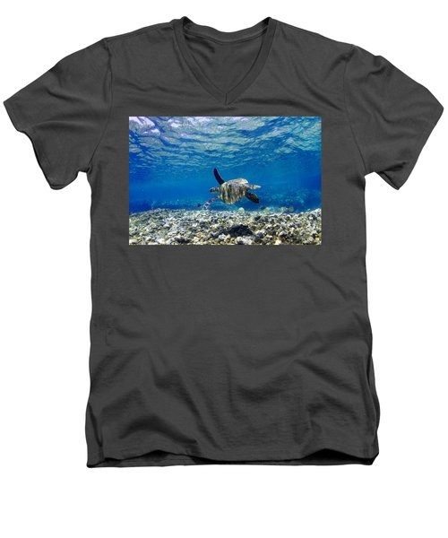 Turtle Cruise Men's V-Neck T-Shirt