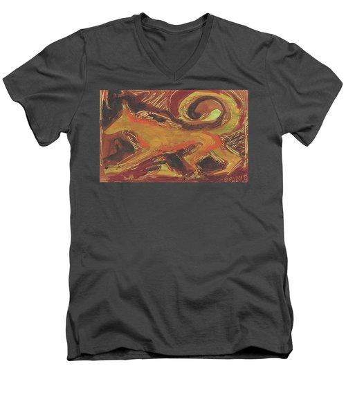 Tusany Dog Italy Men's V-Neck T-Shirt