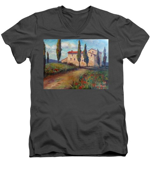 Tuscan Home Men's V-Neck T-Shirt