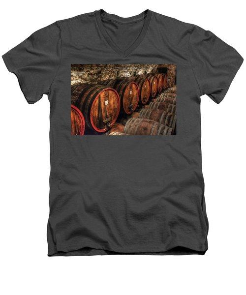 Tuscan Wine Cellar Men's V-Neck T-Shirt