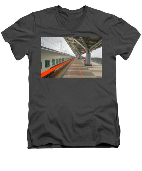 Tw Bullet Train 2 Men's V-Neck T-Shirt