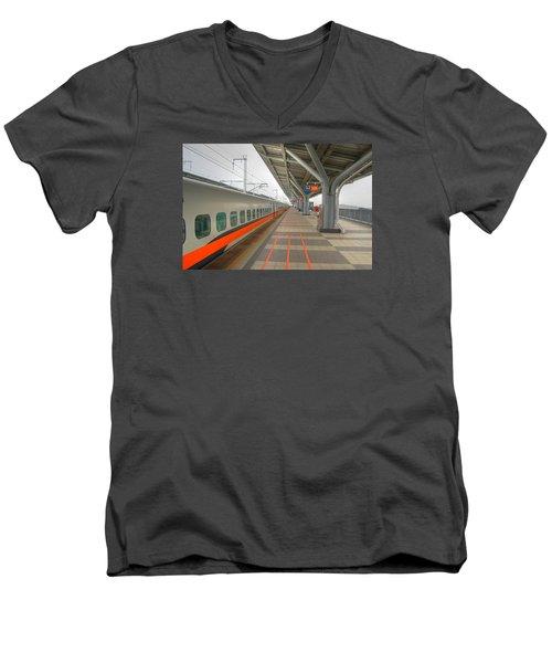 Tw Bullet Train 2 Men's V-Neck T-Shirt