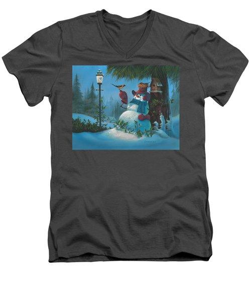Tweet Dreams Men's V-Neck T-Shirt