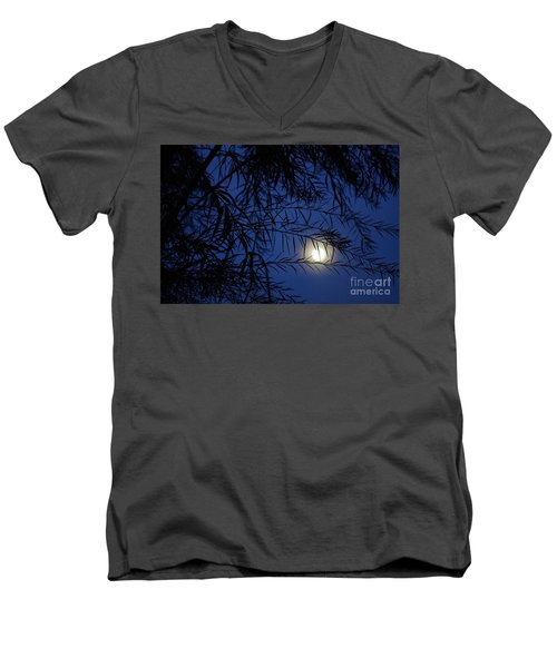 Twilight Moon Men's V-Neck T-Shirt