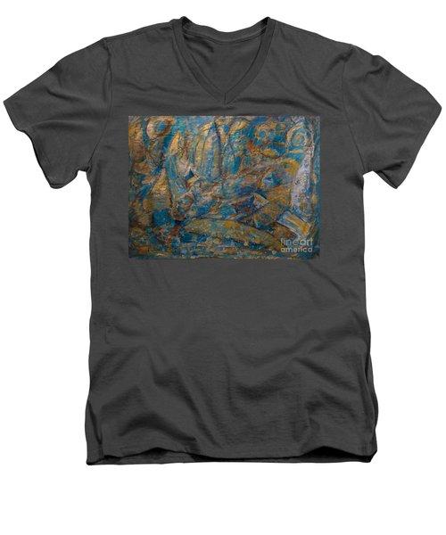 Twilight Sails Men's V-Neck T-Shirt