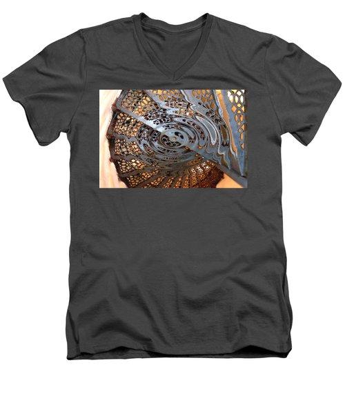 Twist Of Steel Men's V-Neck T-Shirt