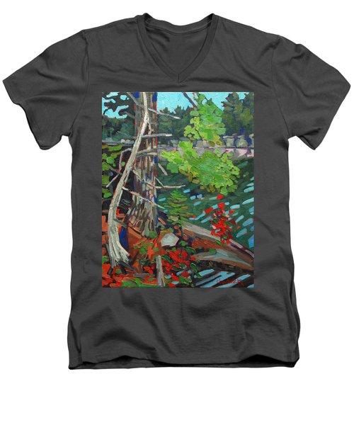 Twisted Island Men's V-Neck T-Shirt