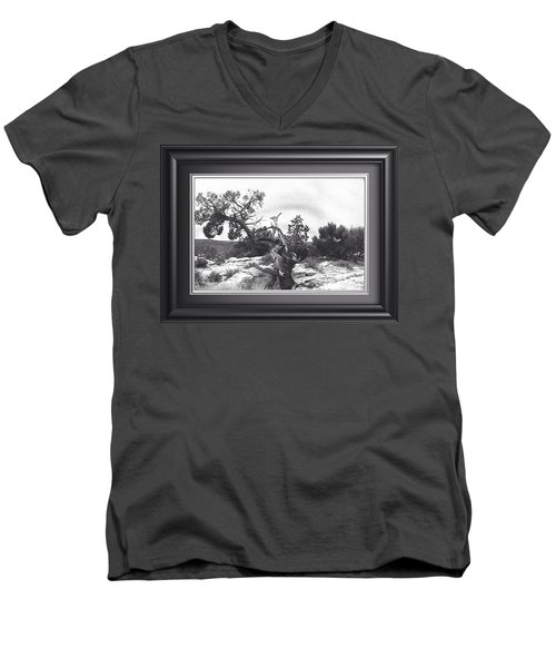 Twisted. Natures Prank Men's V-Neck T-Shirt by Catherine Swerediuk