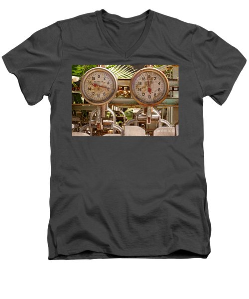 Two Farm Scales Men's V-Neck T-Shirt
