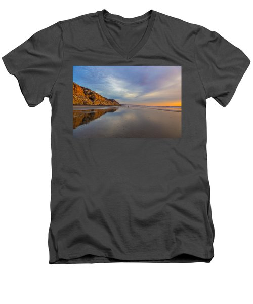 Two Men's V-Neck T-Shirt