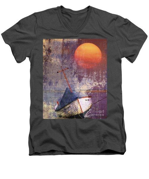 Two Ways Men's V-Neck T-Shirt