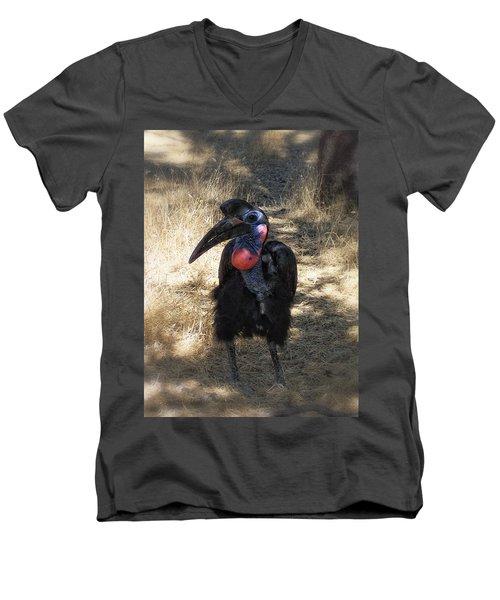 Ugly Bird Ball Men's V-Neck T-Shirt