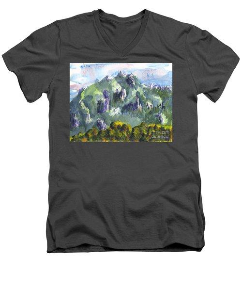 Uintah Highlands 1 Men's V-Neck T-Shirt