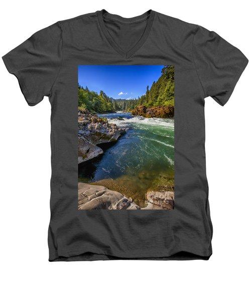 Umpqua River Men's V-Neck T-Shirt
