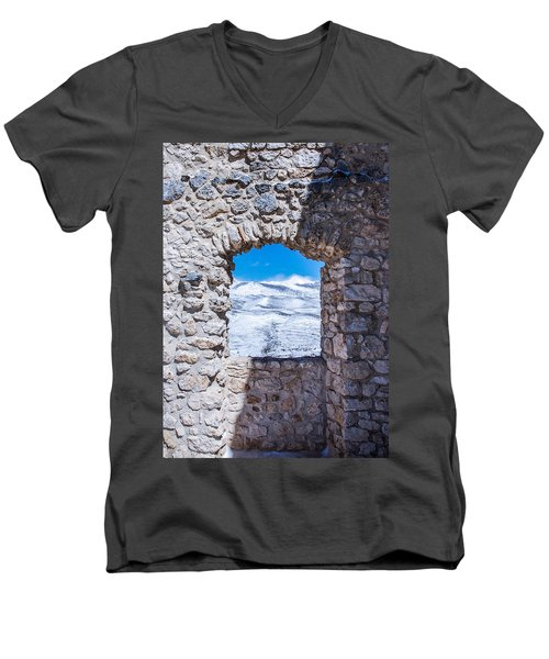 A Window On The World Men's V-Neck T-Shirt