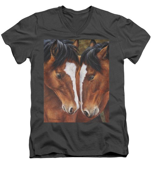 Unbridled Affection Men's V-Neck T-Shirt