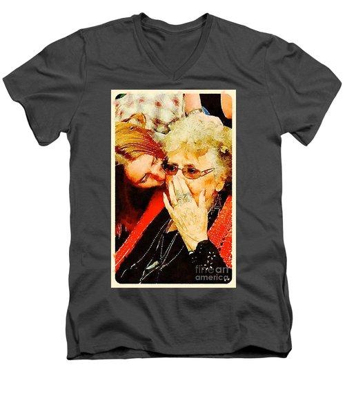Unconditional Men's V-Neck T-Shirt