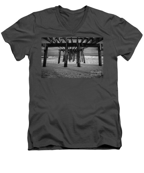 Under The Boardwalk Men's V-Neck T-Shirt