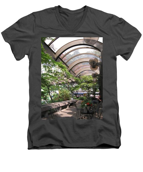 Under The Dome Men's V-Neck T-Shirt by David Trotter