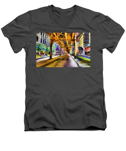 Under The El - 20 Men's V-Neck T-Shirt