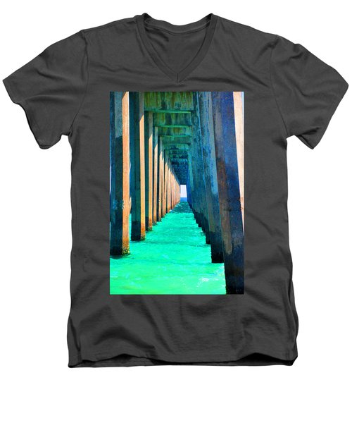 Under The Pier Too Men's V-Neck T-Shirt